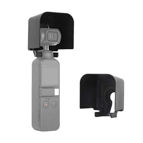 iEago RC Gimbal Camera Lens Protector Cover Zonnekap Zonnekap Cover Voorkomen Glare Beschermende Caps voor DJI Osmo Pocket Handvat Gimbal Camera Accessoires