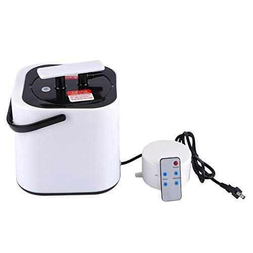 Buy Jadpes 2L Home Portable Steam Generator Saunas Steamer Pot with Timer Temp Display for Shower Sa...