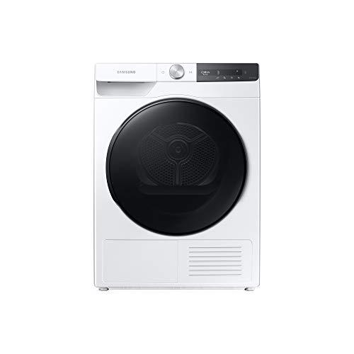 Samsung Asciugatrice DV80T7220BT/S3 con AI Control, Asciugatura Ultra-Veloce in 81 minuti, Igienizzante, Air Wash, Prevenzione Pieghe, Tecnologia Optimal Dry, Filtro 2 in 1, Colore Bianco