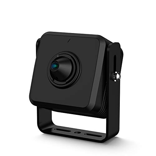 Amcrest Mini IP Camera, 1080P Indoor Network Mini Camera, 2MP Wired Security Surveillance Nanny Cam, 2.8mm Lens, 105° Viewing Angle, 1080p @30fps, IP2M-PH822B (Black)