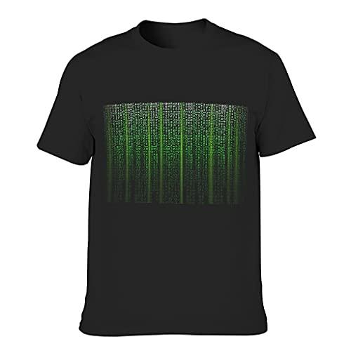 Camiseta de algodón para hombre con código de individualidad fresca duradera - estilo Tops