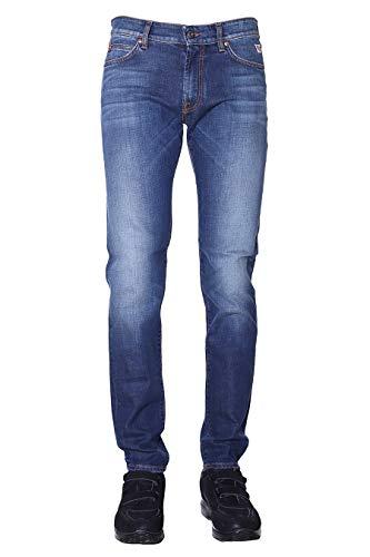 Roy Roger's Jeans Uomo 517 Carlin RRU075D0210005 AISD (31, Blu)