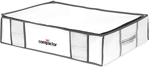 COMPACTOR Caja de Almacenaje Al Vacío, Talla L, 145 l, Blanco 'Life', RAN3592