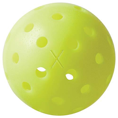 Franklin Sports X-40 Outdoor Pickleballs - USAPA Approved Pickleballs - Outdoor Performance Pickleballs - 100 Pack Optic Yellow, X-40 Performance Outdoor Pickleballs - USAPA Approved (100 Pack)