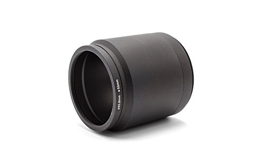 vhbw Filteradapter Tubus für Digitalkamera Systemkamera Kamera Panasonic Lumix DMC-FZ200, DMC-FZ300 wie DMW-LA7, DMW-LA7GU
