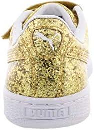 PUMA - Chaussures à Paillettes pour Femmes, 37.5 EU, Gold/Gold ...