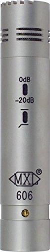 Micrófono de condensador MXL 606 - plateado