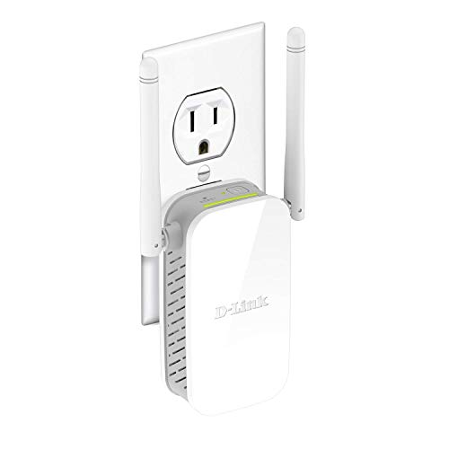D-Link WiFi Range Extender, N300 Plug In Wall Signal Booster Ethernet Internet Wireless Network Repeater (DAP-1325-US), White