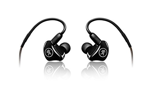 Mackie MP Series In-Ear Headphones & Monitors with Dual Drivers (MP-220)