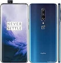 Oneplus 7 Pro GM1910 256GB, 8GB, Dual Sim, 6.67 inch, 48MP Main Lens Triple Camera, GSM Unlocked International Model, No Warranty (Nebula Blue) (Renewed)