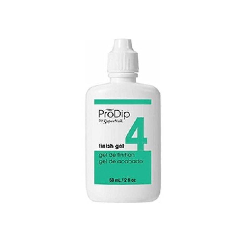困惑する寝る学者SuperNail ProDip - Finish Gel - 59 ml/2 oz