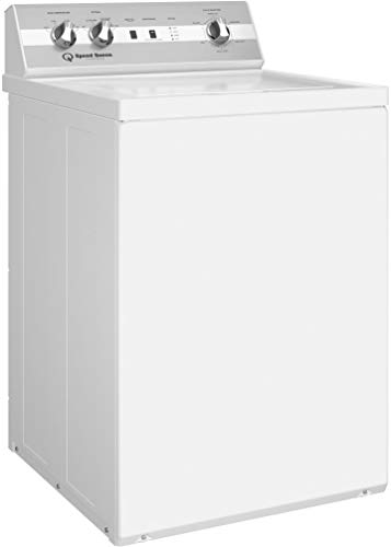 Speed Queen TC5000WN 26 Inch Top Load Washer with 3.2 cu. ft. Capacity, 6 Wash Cycles, 710 RPM, Top Load Stainless Steel Wash Tub, 3 Year Parts and Labor in White
