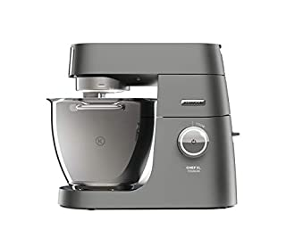 Kenwood KVL8320S Chef Titanium SYSTEM PRO Impastatrice Planetaria, Robot da Cucina Mixer, con Frullatore, 1700 W, 6.7 Litri, Acciaio, Plastica, Argento, 38 x 28.5 x 35.6 cm (B01KPT83EA) | Amazon price tracker / tracking, Amazon price history charts, Amazon price watches, Amazon price drop alerts