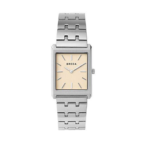 BREDA 'Virgil' Stainless Steel and Metal Bracelet Watch, 26MM
