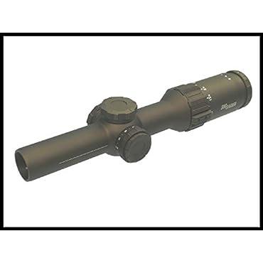 Sig Sauer Tango6t 1-6x24mm 30mm Scope with SFP, MOA Milling Hellfire, Illum Reticle