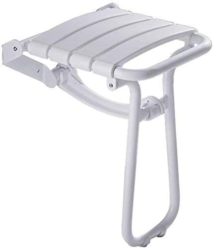 ZXY-NAN Bathroom Wheelchairs Bath Chair, Foldable Wall Stool Shower Stool Non-Sliding Elderly Disabled Leg Shower Stool