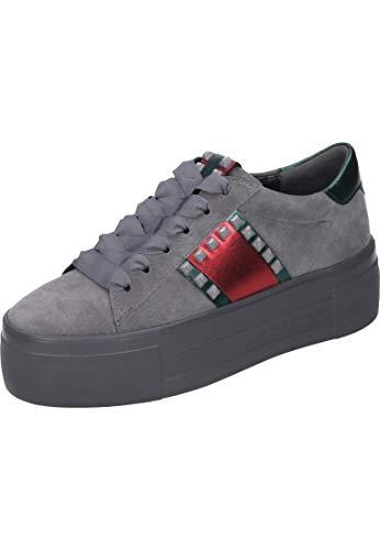 Kennel und Schmenger Sneaker, Top Velour Leder Grau Damen Schuhe > Damen Sneaker > Damen Sneaker Low Größe 7