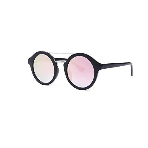 Huanxin Gafas de Sol Redondas polarizadas pequeñas para Hombres, con bisagras de...