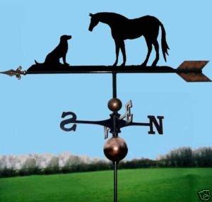 &Dog Wetterfahne Pferd, handgefertigt, sehr gute Qualität