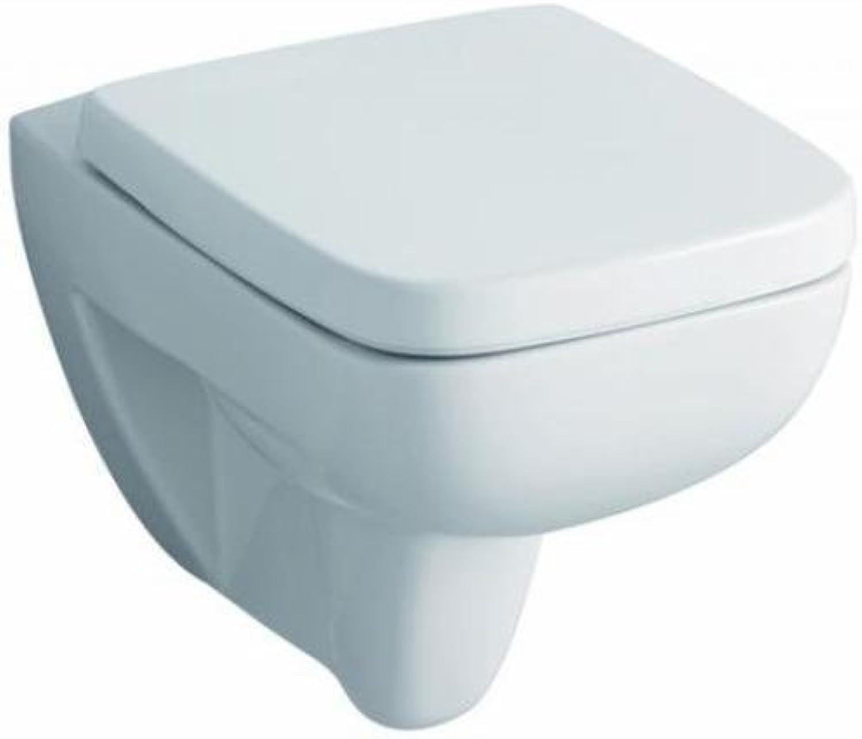 Keramag WC Renova Nr. 1 Plan spuelrandlos 202170000 mit Deckel, C05015000