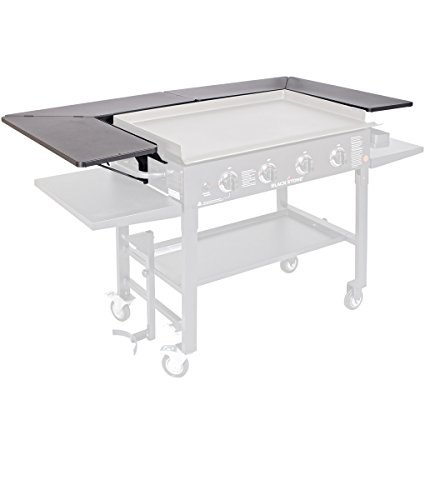 Blackstone 1680 Surround Table Accessory Front Powder Coated Steel-(Grill not included and Doesn't fit the 36' Griddle with New Rear Grease Model), Black
