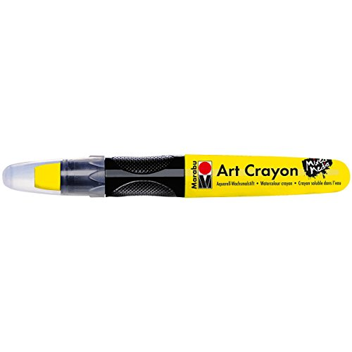 Marabu 01409003220 Creative Art Crayons, Yellow