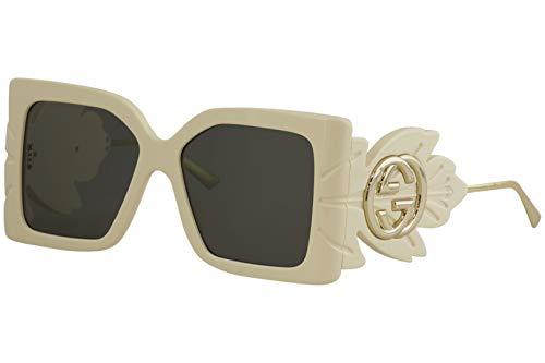 Gucci Gafas de Sol GG0535S WHITE/GREY 56/16/135 mujer