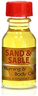 Burning and Body Oil - Sand and Sable .5 ounce