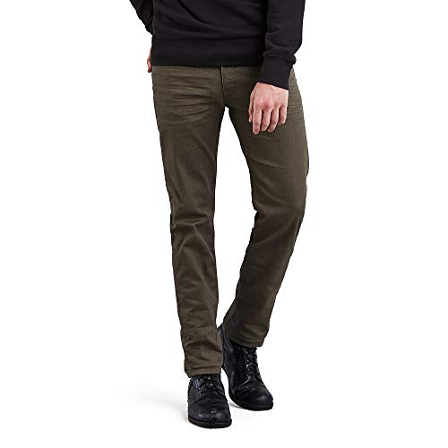 Levi's Men's 511 Slim Fit Jean, New Khaki 3D - Stretch, 32W x 34L
