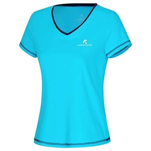 KOSSMANN Ultra Lite Shirt Damen Azur Gr. XS