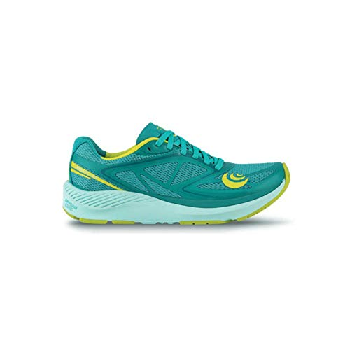 Topo Athletic Women's Zephyr Road Running Shoe, Teal/Lime, Size 6