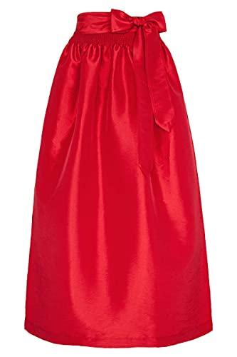 Stützle Damen Dirndl-Schürze rot 90cm, rot, XL