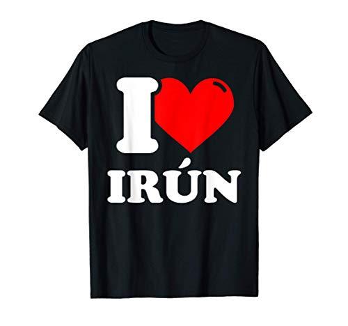 I love Irún Camiseta