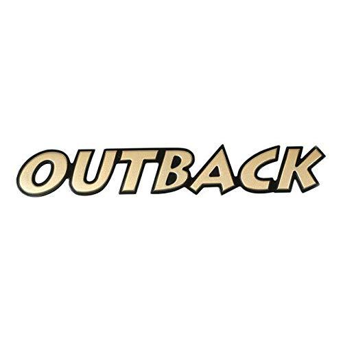 SUBARU 2000-2003 Outback Emblem Badge Trunk Lid Nameplate OEM New 93073AE420