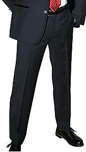 Lodenfrey Anzughose Hose Trachtenhose für Trachtenanzug dunkelgrau Fresko-Stoff Reine Schurwolle anthrazit feine Anzug-Hose grau auch zum modischen Sakko cool Wool, Größe:26