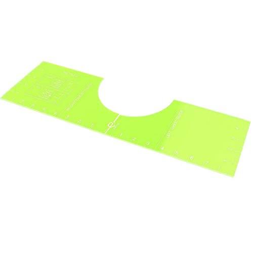 tJexePYK Guía de centrado de la Camiseta de la Regla de Vinilo alineación Regla Herramienta Camiseta Camisa Que se miden la Herramienta para guiar la Camiseta de los 18 * 5 Pulgadas