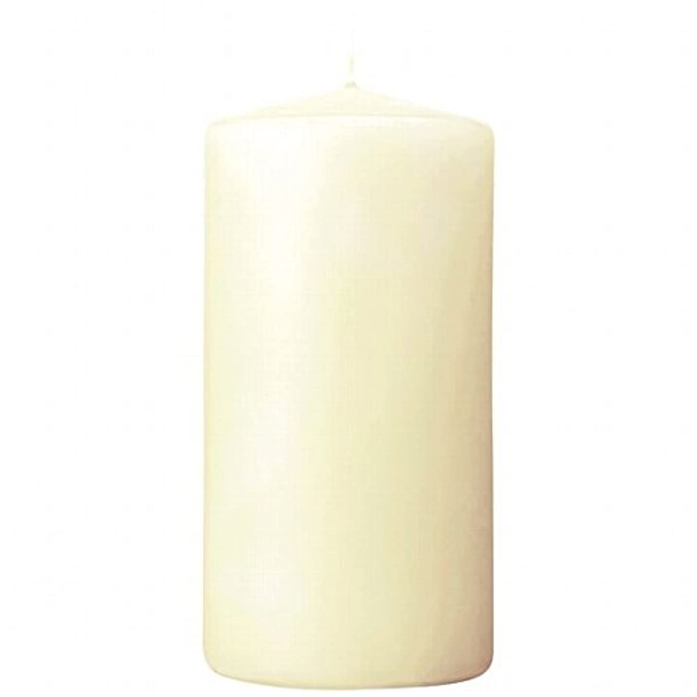 神驚きセントカメヤマキャンドル(kameyama candle) 3×6ベルトップピラーキャンドル 「 アイボリー 」