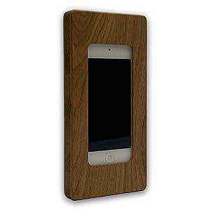 Apple iPod touch Gen. 5|6|7 NobleFrames Wandhalterung aus Eiche