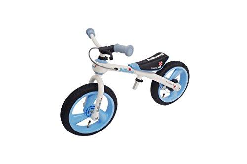 Bambini Bug JD Delux girante 12 'prima moto 3 diversi colori, colore: blu
