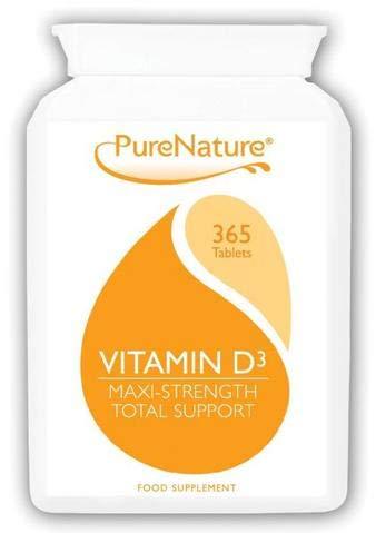 Vitamin D3 | 365 Tablets | PureNature