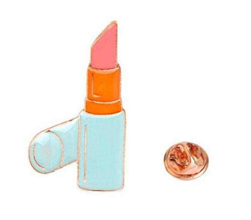 MEIDI Home Kreative Lippenstift Brosche Button Abzeichen Kostüm Zubehör (bunt) Creative Lovely...