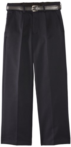Blue Max Banner Boy's Plymouth Pleated With Fly Trousers, Navy Blue, W32/L30