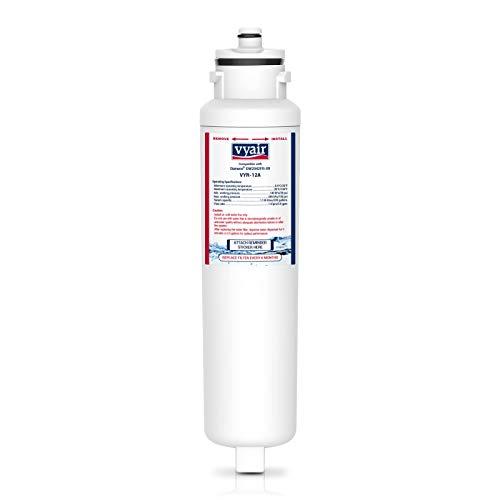 Vyair VYR-12A Remplacement Cartouche Filtre Eau Du Réfrigérateur Pour Daewoo Aqua Crystal DW2042FR-09, DW2042F-09, DW2042FB, FRNY225D2V, 3019986700, Titan 4, John Lewis JLAFFS2011, Smeg SR610X (1)