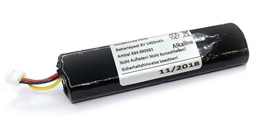 Batteriepack passend für Telenot BP3 DSS2 Komponenten wie Meldesender MS 221 oder Funk-Geruchsmelder AKG233