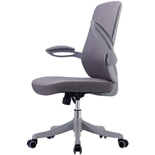 LXF Bürostühle Grau Zeichenstühle mit Rädern/Waffen, Verstellbare Höhe Bürostuhl zum Zuhause Schule, Schwerlast Stehen Drehstuhl, Unterstützung 150kg