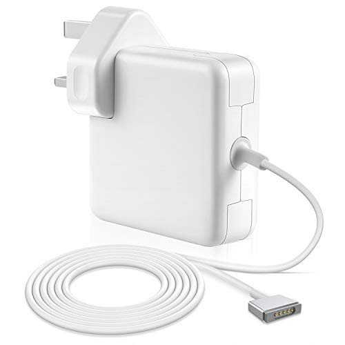 Wallin Compatible with Mac Charger 60w Mag 2 Safe Power Adapter Compatible with mac book Air 13 Retina display(2012-2015) Replacement Magnetic T Shape.