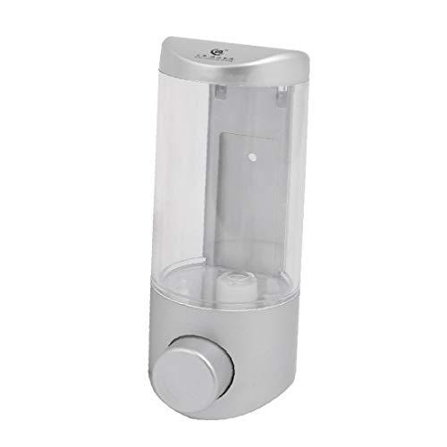 X-DREE ABS 350ML Capacity Wall-Mount Bathroom Liquid s-o-ap Dispenser Gray (798ae6d2-a222-11e9-8d7c-4cedfbbbda4e)