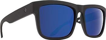 Spy Discord HD Plus Bronze with Blue Spectra Square Sunglasses