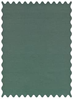 SheetWorld 100% Cotton Percale Fabric by The Yard, Hunter Green Woven, 36 x 44