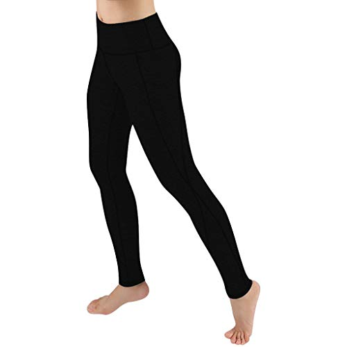 Damen Lässige Einfarbige Leggings für Frauen Fitness Sport Laufen Yoga Athletic Hosen, Damen Leggings, Classics Stretch Workout Fitness Jogginghose Eaylis